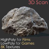 photogrammetry stone scan 17 3D