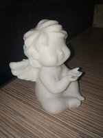3D angel statuette