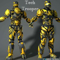 3D tech trooper