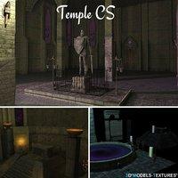 temple cs 3D model
