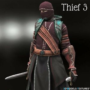 thief 3D model