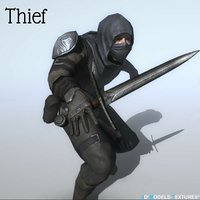 character thief 3D model