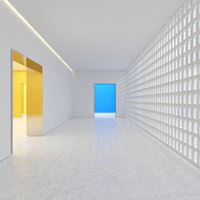 hallway room light 3D
