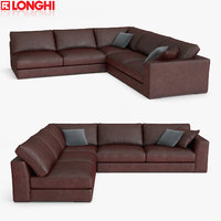 3D model longhi sofa section