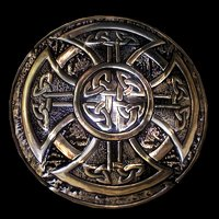 shield celtic 3D