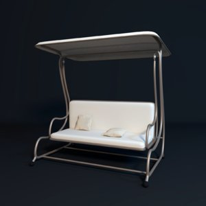 porch swing 3D