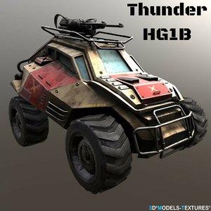 3D thunder hg1b