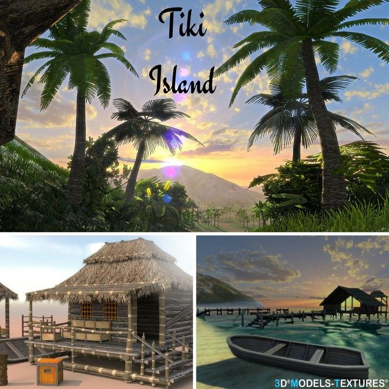 tiki island 3D