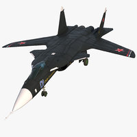 3D sukhoi su-47 berkut russin