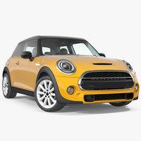 3D small economy door generic car