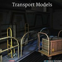 transport 3D model