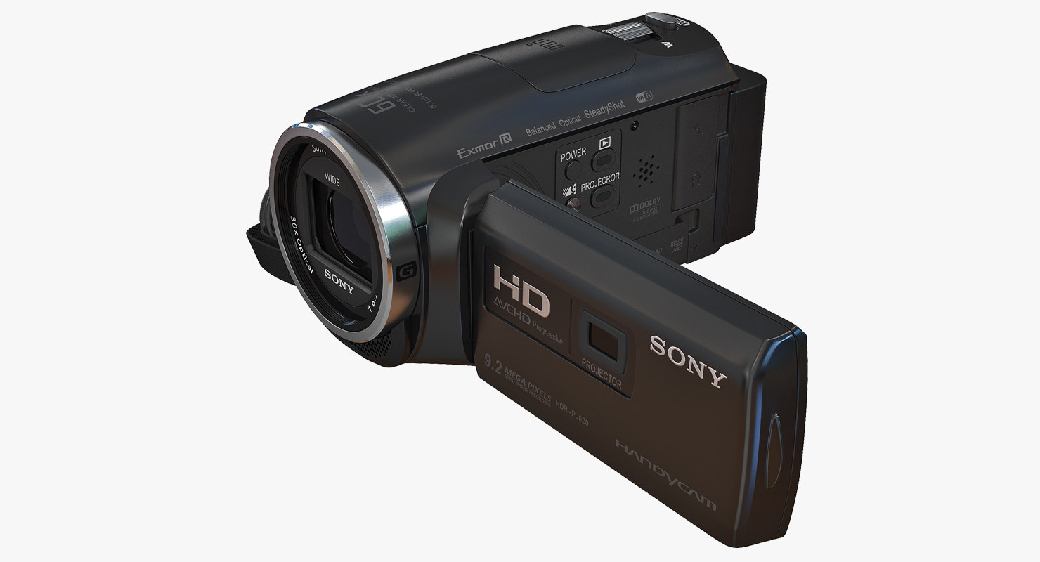 hd camcorder built projector 3D