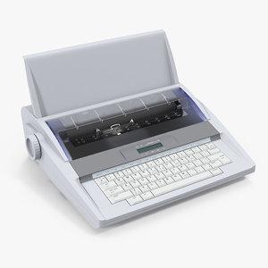 electronic typewriter generic model