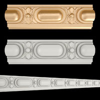 frieze gold 3D model