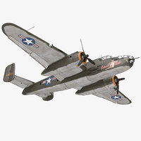 B-25 Mitchell US Medium Bomber Rigged