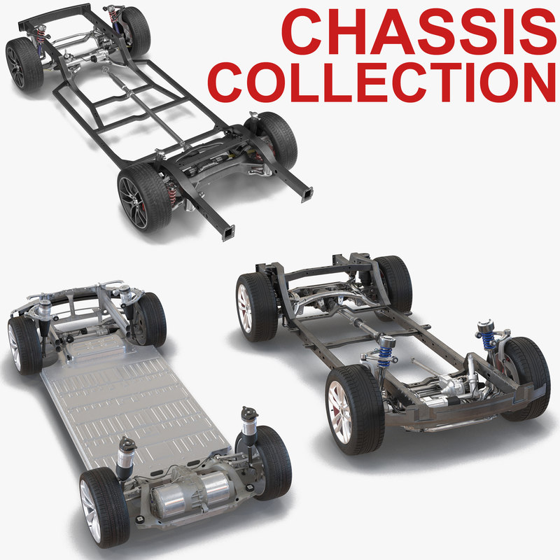 3D model chassis 2 s