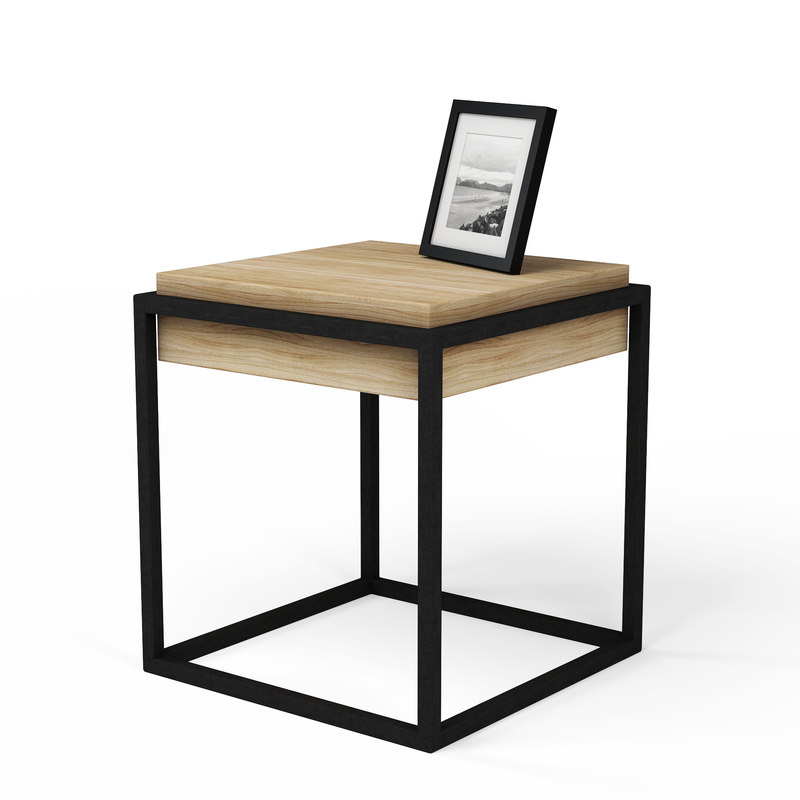 3D modern nightstand picture frame