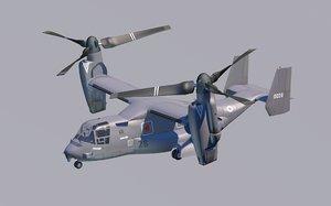 belling v22 osprey 3D model