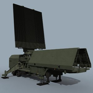 59n6e russian radar 3D