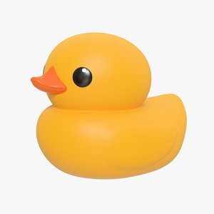 rubber duck 01 3D