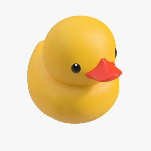 3D rubber duck 01 1