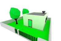 House Low Poly - Zone low Density Residential  02