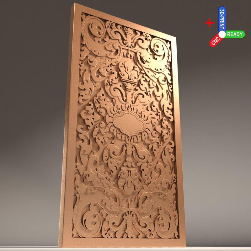 3D door x1 east