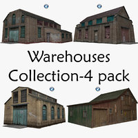 Warehouses Collection-4 pack