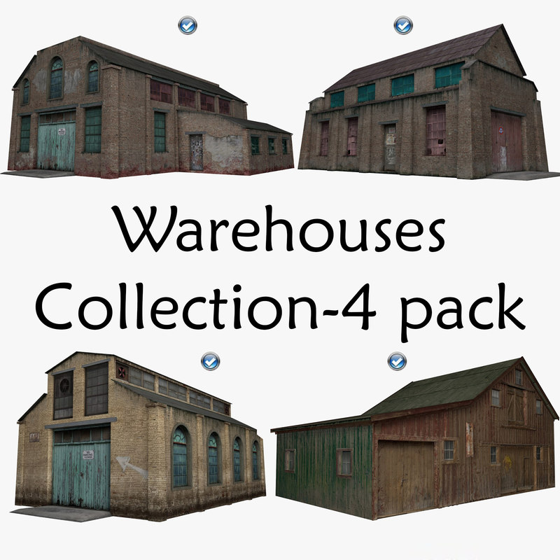 3D pack warehouse house