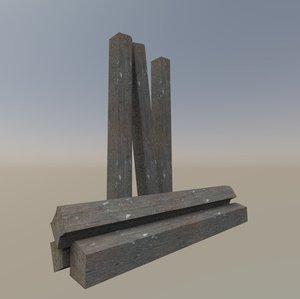 3D beam pack