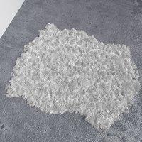 3D animal fur rug