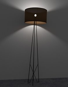 wire lamp 3D