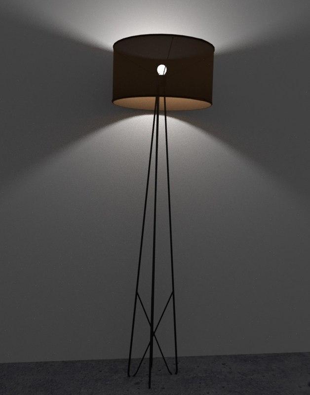 Wire lamp 3D - TurboSquid 1210194