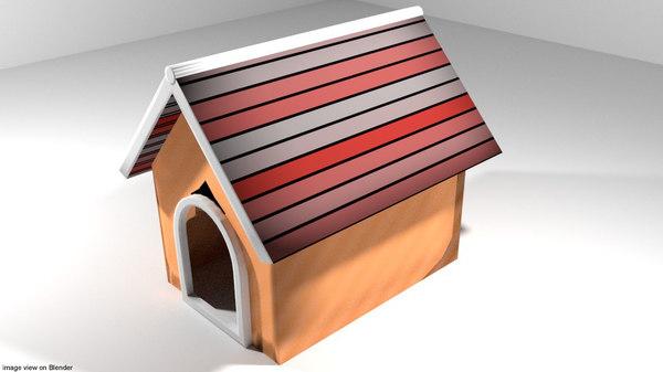 dog house 3D