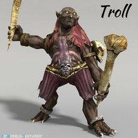3D troll