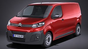 3D citroen jumpy 2018