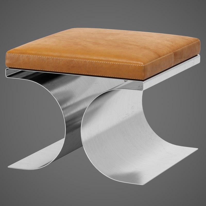 3D x stool boyer model
