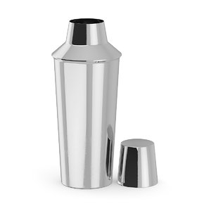 metal shaker 3D