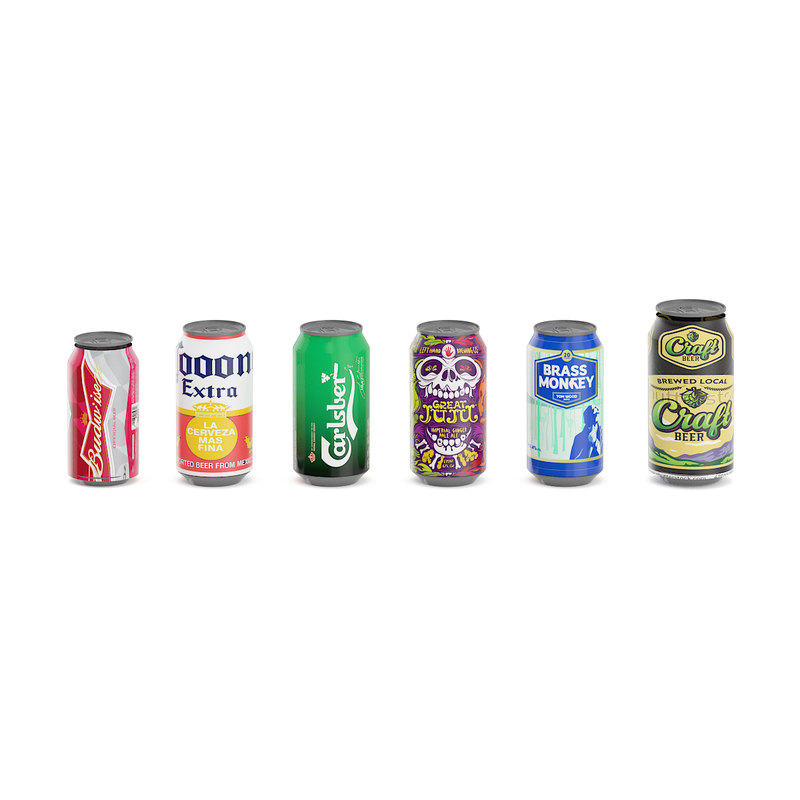 cans beer model