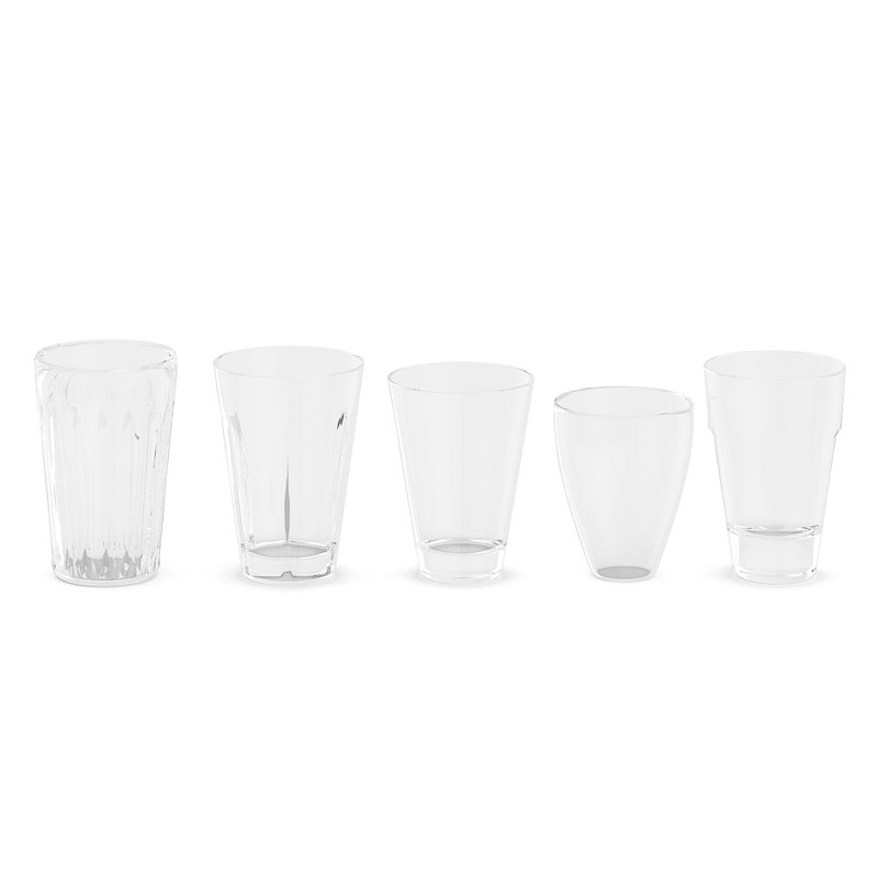 glass set 3D model