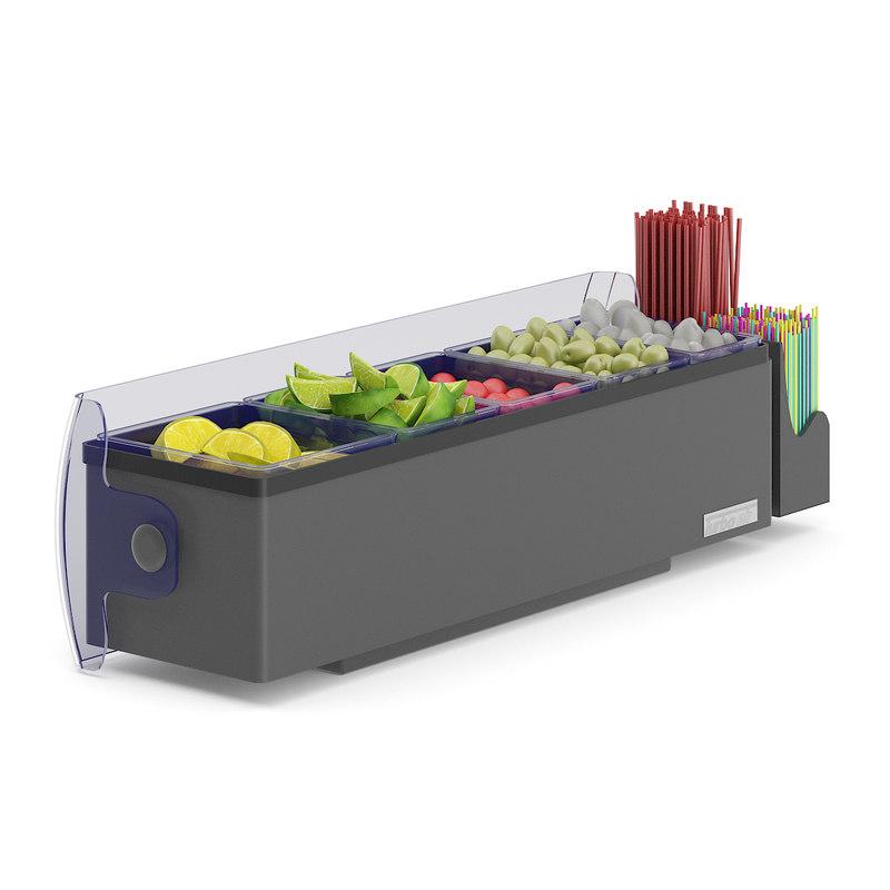 garnish tray model