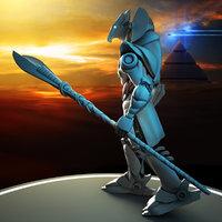 3D horus robot model