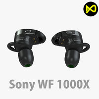 sony headphone wireless 3D model