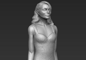 3D emma stone printing ready model