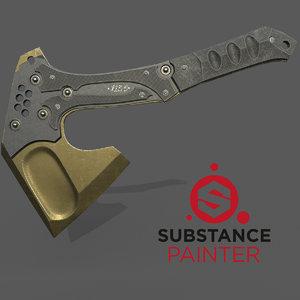 3D tactical ax