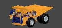 3D model realistic dumpers mines