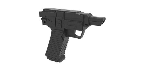 3D visitor gun simple