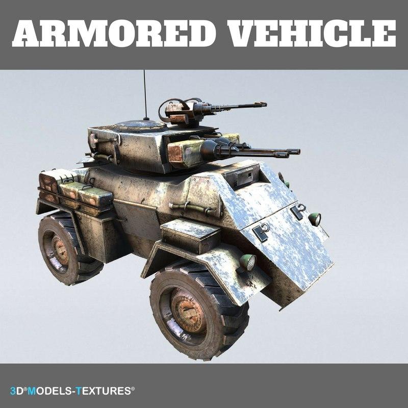 3D vehicle guns canister