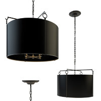 aspen large hanging shade 3D model