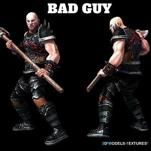 3D bad guy